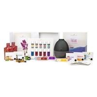 Essential Oils Premium Starter Kit with Rainstone Diffuser