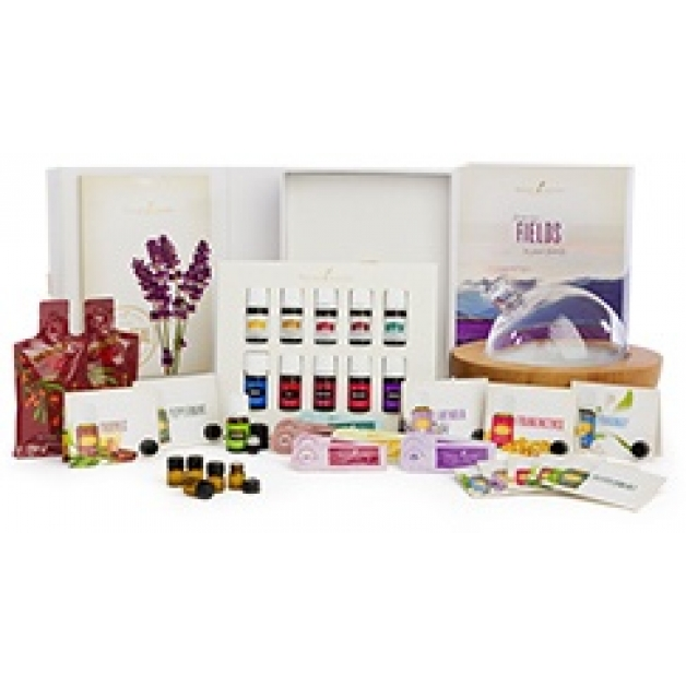 Essential Oil Premium Starter Kit with Aria Diffuser